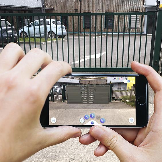 portail en réalité augmentée