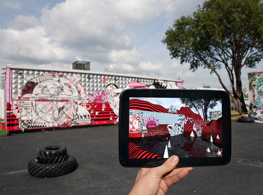 street art en réalité augmentée